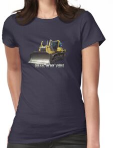 Diesel In My Veins Womens Fitted T-Shirt