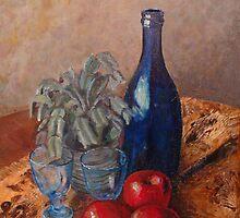 Red delicious Still Life by Aki Mononen
