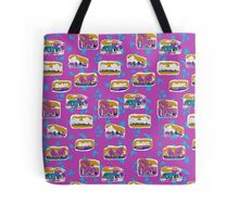 Gove Hawaiian design - purple back ground Tote Bag