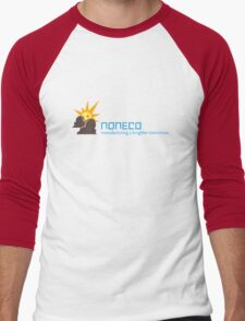 Artifice Corporate Logo with Slogan Men's Baseball ¾ T-Shirt