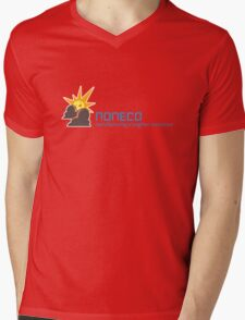 Artifice Corporate Logo with Slogan Mens V-Neck T-Shirt