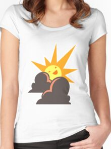Artifice Corporate Logo Women's Fitted Scoop T-Shirt