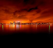 ":Perth Lighted Up"" by Heather Thorning"