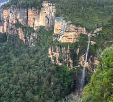 Bridal Veil Falls, Grose Valley, NSW, Australia  (HDR) by Adrian Paul