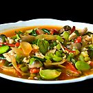 Diced Chicken with Vegetables by Charuhas  Images