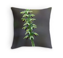 Mallee Midge Orchid Throw Pillow