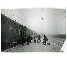 Trans-Siberian winter journey  Poster