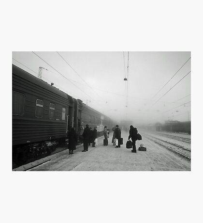 Trans-Siberian winter journey  Photographic Print