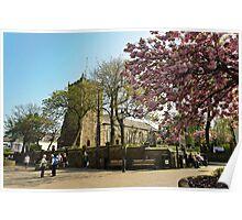 Market Place Poulton Le Fylde Poster