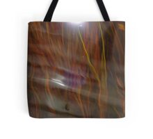 Reflections from underneath.  Underwater vegetation, Okavango River, Botswana, Africa Tote Bag