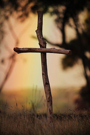 Rainbow Cross by Amy Dee