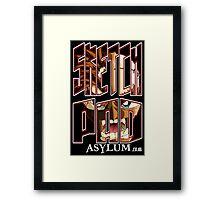 Sketch Pad Fury Framed Print