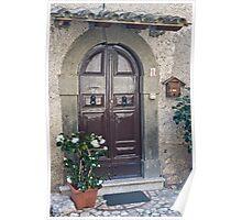 Fumone Front Doors  Italy 2 Poster
