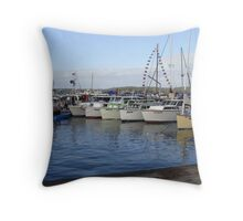 LAKE MACQUARIE CLASSIC BOATFEST 2011 Throw Pillow