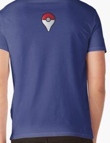 Pokemon GO Logo Mens V-Neck T-Shirt