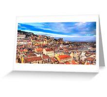Lisbon... Greeting Card