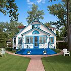 Alice in Wonderland House by Beth Jennings