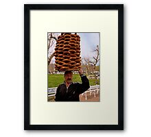 Give us our daily bread! Framed Print