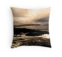 hell's storm Throw Pillow