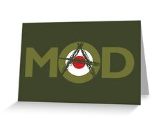 Mad Mod Greeting Card