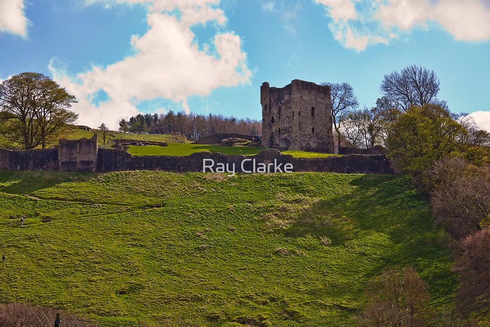 Peveril Castle by Ray Clarke