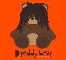 Dreddy bear - he's so rasta Kids Clothes