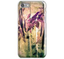 Abstract Botanical iPhone Case/Skin