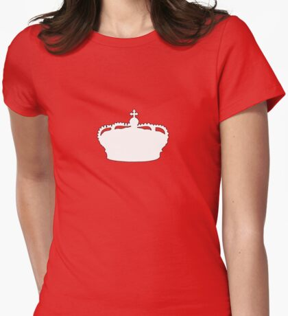 Crown Womens Fitted T-Shirt