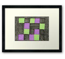 blocks-2012-01 Framed Print