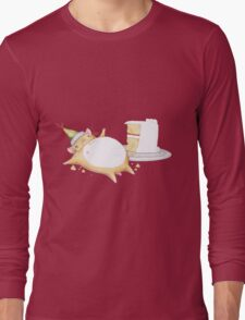 Greedy Hamster Long Sleeve T-Shirt