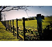 Rural Boundaries... Photographic Print