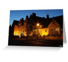 Lygon arms broadway Greeting Card