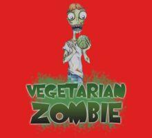 Vegetarian Zombie Kids Tee