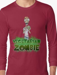 Vegetarian Zombie Long Sleeve T-Shirt