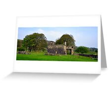 Out Building at fore abbey. Greeting Card