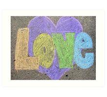 Urban Love Art Print