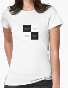 Kinda Funny, Kinda Sad Womens Fitted T-Shirt