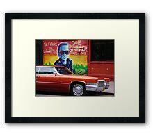 The Clash - Joe Strummer Framed Print