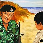 Green Beret by ManemannArt