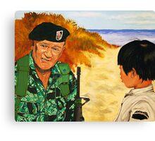 Green Beret Canvas Print