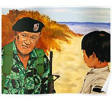 Green Beret Poster