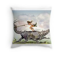 Hitch Along Throw Pillow