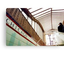 Chicago Metro Station Canvas Print