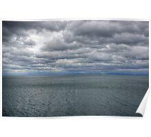 Clouds Over Lake Baikal, Russia, Siberia Poster
