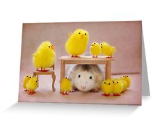Rosie celebrates Easter :) Greeting Card