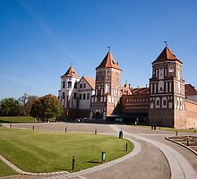 The Castle Of Mir, Belarus by Dmitry Shytsko