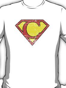 Vintage C Letter T-Shirt