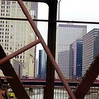 Chicago Steel, Conrete and Glass by Alberto  DeJesus