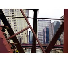 Chicago Steel, Conrete and Glass Photographic Print