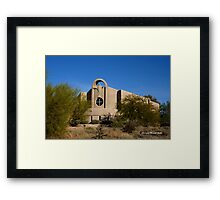 Desert Church Framed Print